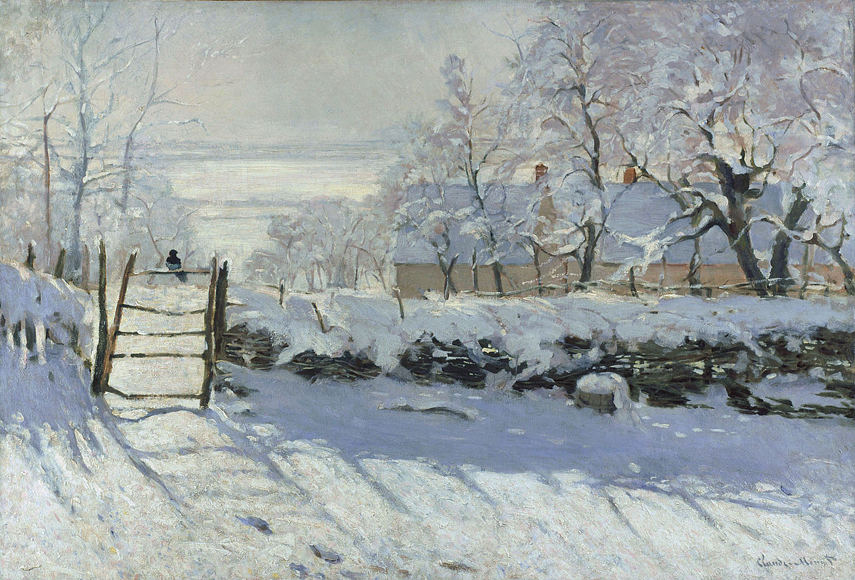 De Nittis Claude Monet The Magpie Google Art Project Copia